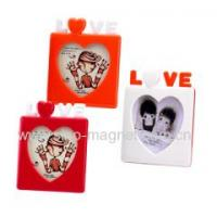 China rubber magnetic photo frames wholesale