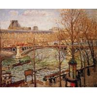 Wholesale Impressionist(3830) The_Pont_du_Carrousel,_Afternoon from china suppliers