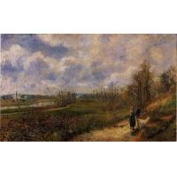 Wholesale Impressionist(3830) Pathway_at_Chou,_Pontoise from china suppliers