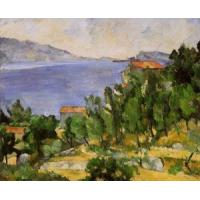Wholesale Impressionist(3830) The Bay of L-Estaque from the East from china suppliers