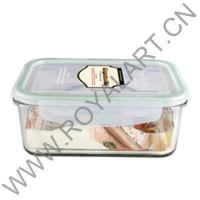China GLASS LOCK CONTAINER WITH AIRTIGHT LID GLP-0013 wholesale