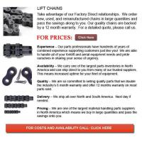 Chains for Forklift