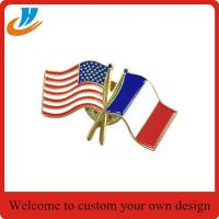 Wholesale BS002 soft enamel flag lapel pin from china suppliers