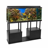 Wholesale Aquatic Fundamentals 55 Gallon Aquarium Stand with Shelf, 55 Gallons, Black from china suppliers