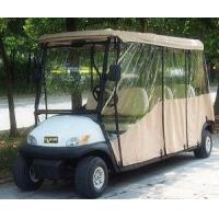 Wholesale 6 Seater Electric Golf Cart Parts And Accessories / Deluxe Brown Golf Cart Enclosures from china suppliers
