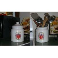Wholesale Cookie Jar / Canister with Family Crest / Coat of Arms from china suppliers