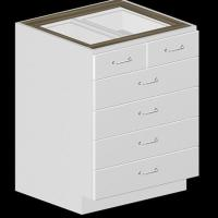 Wholesale 5 Drawer Kitchen Base Cabinet from china suppliers
