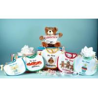 Personalized Baby Gifts My First Holiday Bibs & Bear Baby Gift Set