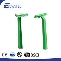 China AK-1008 STAINLESS STEEL TWIN BLADE RAZOR WITH RUBBER HANDLE wholesale