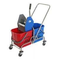 Wholesale DOUBLE MOP WRINGER TROLLEY BUCKET from china suppliers