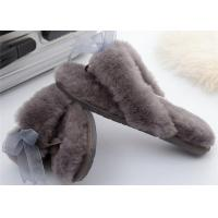 indoor moccasin slipper outdoor shearling wool slippers outdoor sheepskin winter slipper