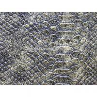 Wholesale Snake Python print PU leather from china suppliers
