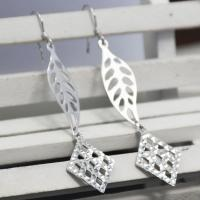 Wholesale Made In China Custom Designs Willow Leaves Pattern Studs Earring Supplier from china suppliers
