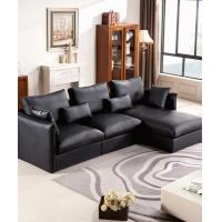 Apartment Leather L Shaped Corner Sofa