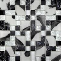 Glass mosaic RS234812 ice crack crystal mosaic