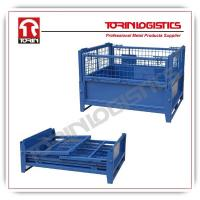 China Top quality metal warehouse storage cages wire mesh container made in China (L12 wholesale