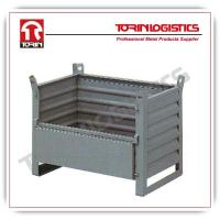 China Container crate storage bin steel wire container (L800*W500 mm/OEM) wholesale