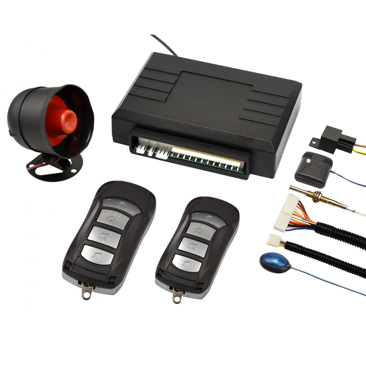 EG-L3000 universal one way car alarm, best selling model