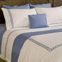 Bed Linen with Embroidered Designs, Includes Duvet Cover and Pillow Cover, Pillow and Cushion