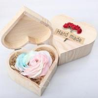 christmas gift heart shape packing box custom logo