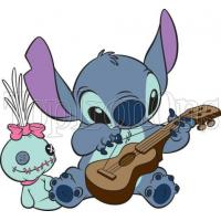 Wholesale Cartoon Iron On Transfers Lilo & Stitch ~ Iron on Transfer ~ #2 from china suppliers