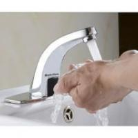 Saleting Hands Free Automatic Sensor Faucet Bathroom Basin Faucet Cold Water Tap