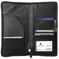 Sheaffer Classic Leather Travel Wallet-- Click for Coupon Code!