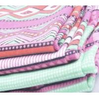 Wholesale Super soft polyester spandex FDY brushed underwear fabric from china suppliers