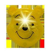 Wholesale Winnie the Pooh Flashing Badge from china suppliers