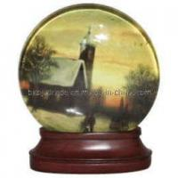 Wholesale Christmas, Polyresin Water Globe (BKC0106) from china suppliers