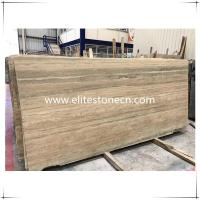 ES-T01 Italy Silver Grey Travertine marble floor and wall tiles in factory prices
