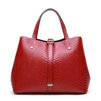 Wholesale Women Bags Genuine Leather Woman Handbag Tote Satchel Crocodile Embossed XL0877 from china suppliers