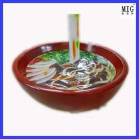 Wholesale toy super bowl of noodle statue ad shop decoration from china suppliers
