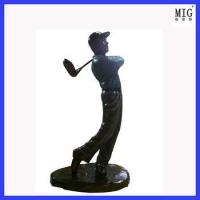 Wholesale super golf man as decoration from china suppliers