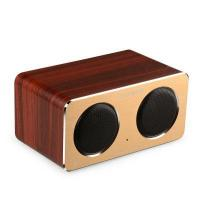 Wholesale Wireless Bluetooth Rechargeable Natural Unique Wood Speaker from china suppliers