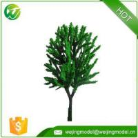 Wholesale architectural 6cm green model tree from china suppliers