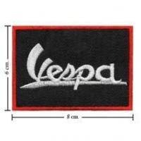 Automobile Vespa Scooter Style-1 Embroidered Sew On Patch
