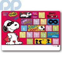 CADTSP-001-CT Functional placemat calendar-Snoopy
