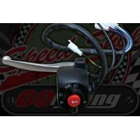 Switch gear. Rotary operation L/H integral clutch lever Start or Horn Lights High Low beam Turn