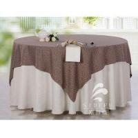 High Quality 100% Cotton Hotel Banquet Table Cloth