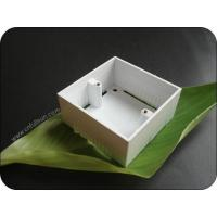 Wholesale Metal Electrical Box Single Gang 40mm Deep PVC Pattress Box With Brass Nut from china suppliers