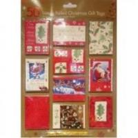 Wholesale LUXURY FOILED CHRISTMAS GIFT TAGS (50) from china suppliers