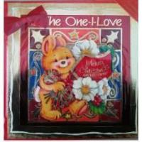 Wholesale CHRISTMAS HANDMADE CARDS ONE I LOVE (CODE 250) from china suppliers