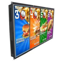 "Standalone LCD Display 55"" Open Frame LED Commercial LCD Digital Signage Display"