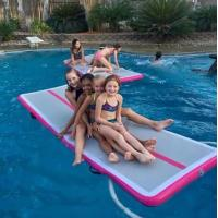 2018 Made-in-China Hot Sale Air Inflate Water Mat Floating Dock