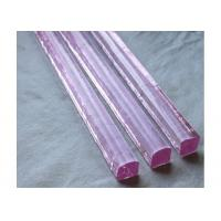 Color glass Pink glass rod