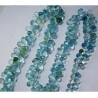 Wholesale Aquamarine Faceted Beads from china suppliers