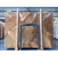 Wholesale Yellow Wooden Marble Slabs from china suppliers