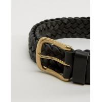 A&F Leather Woven Belt Black Men Abercrombie & Fitch Online,Fantastic savings,competitive price