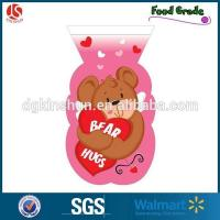Wholesale Valentine Shaped Cello Treat Bags / Wedding Cellophane Candy Bag from china suppliers